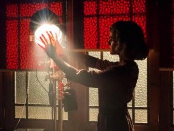 Amaia Salamanza en 'Tiempos de guerra'