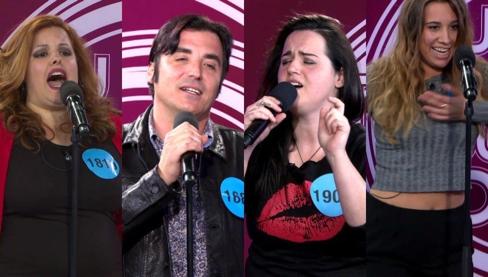 Las imitaciones que dejaron al jurado sin palabras en los castings de 'Tu cara no me suena todavía'
