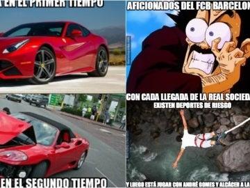 Memes del Barcelona-Real Sociedad