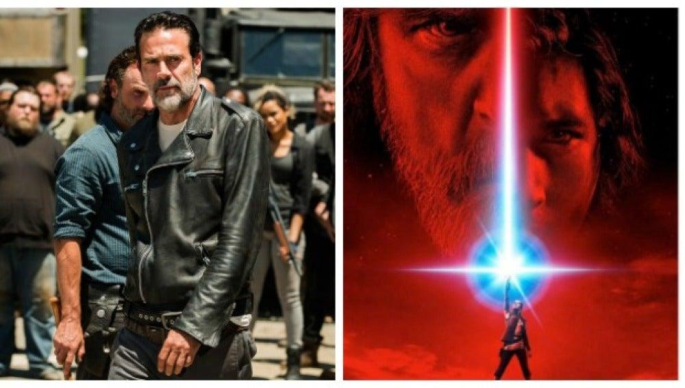 'The Walking Dead' homenajea de esta curiosa manera 'Star Wars: Los últimos Jedi'