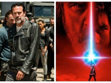 'The Walking Dead' homenajea de esta curiosa manera 'Star Wars: Los últimos Jedi'