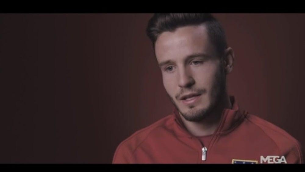 Saúl, centrocampista del Atlético de Madrid