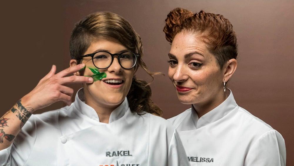 La amistad entre Rakel y Melissa, en peligro