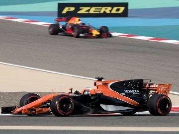 Fernando Alonso, en el GP de Baréin