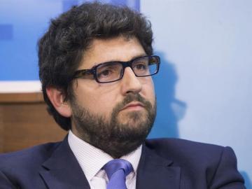 El diputado del PP, Fernando López Miras