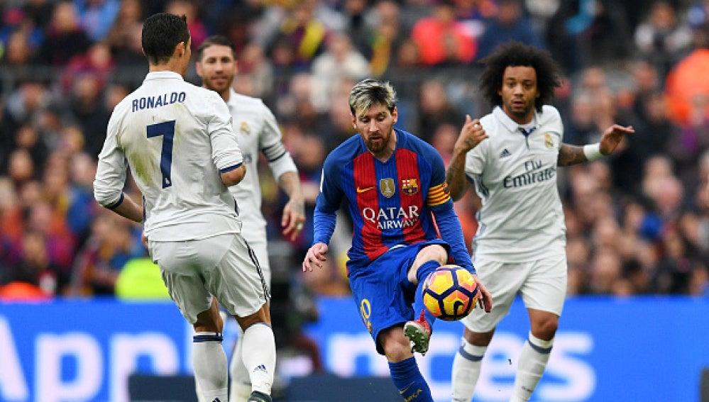 El Clásico entre Real Madrid y F.C Barcelona