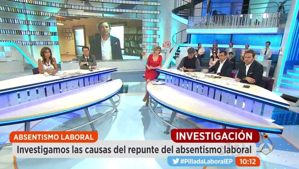 Frame 2.797981 de: Aumenta el absentismo laboral en España