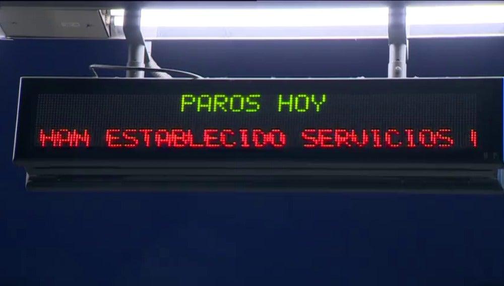 Frame 0.0 de: El sindicato de Maquinistas convoca nuevos paros en el Metro de Madrid para primera hora de este lunes
