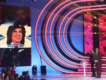 La Mari de Chambao, Eros Ramazzotti y Camilo Sesto, las imitaciones del pulsador para la séptima gala de 'Tu cara no me suena todavía'