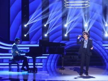 Angy Fernández deja al público sin palabras como Bruno Mars en 'When I was your man'