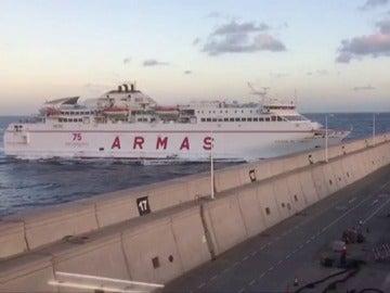 Ferry en Las Palmas