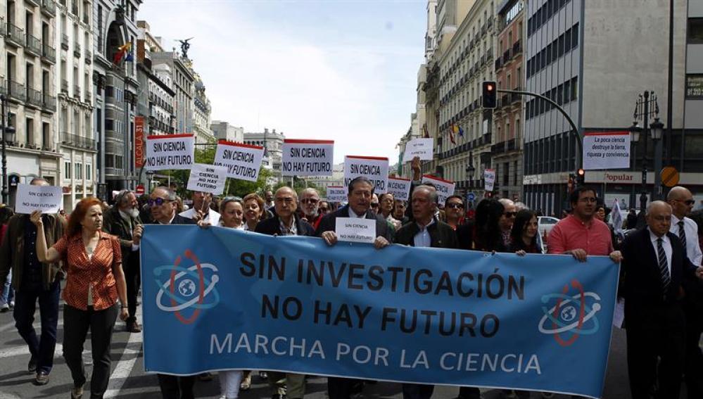 Marcha de la Ciencia en España