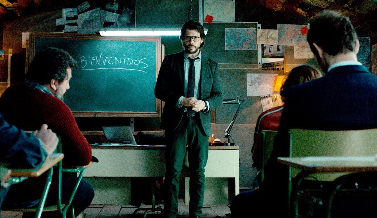 El profesor de 'La casa de papel' super 3