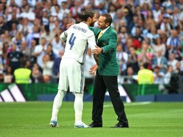 Sergio Ramos junto a Sergio García