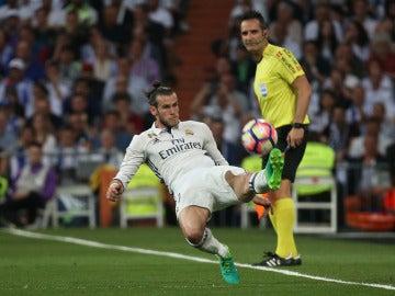 Gareth Bale durante el Clásico