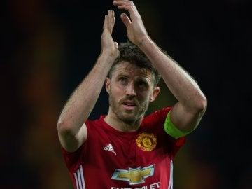 Michael Carrick, jugador del United