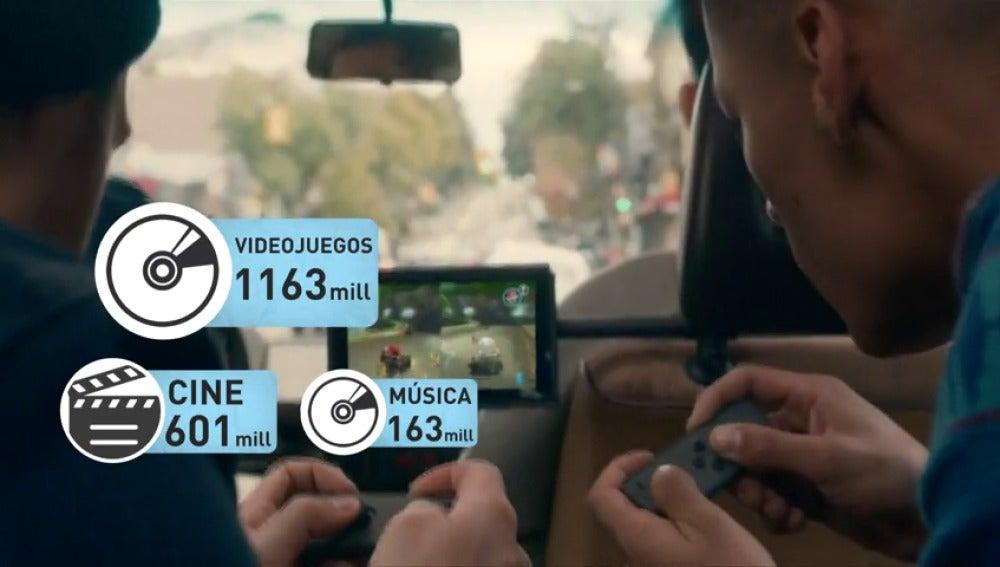 Frame 55.166017 de: La industria del videojuego ha facturado casi 1.200 millones de euros en nuestro país