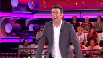Una concursante pone nervioso a Arturo Valls