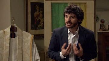 Jaime focaliza su ira con el padre Argimiro