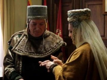 Pilar y Fernando en su boda