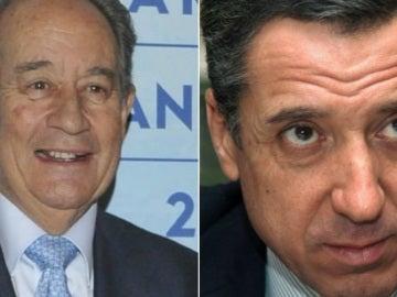 Juan Miguel Villar Mir y Eduardo Zaplana