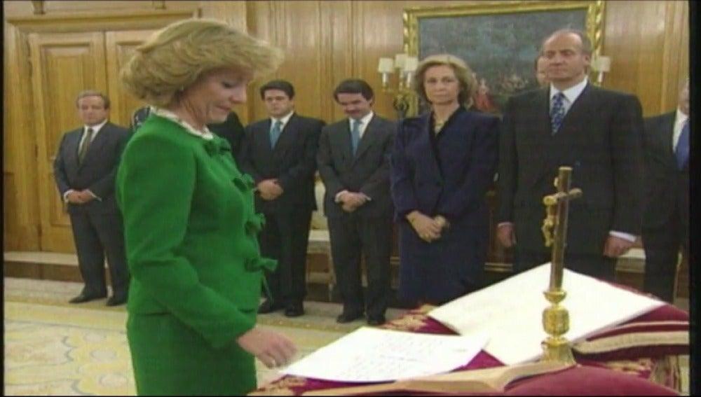 Frame 4.370329 de: Aguirre, más de cuatro décadas dedicadas a la política en una carrera marcada por una personal impronta