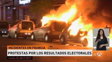 Frame 9.565714 de: PROTESTAS EN FRANCIA POR LAS ELECCIONES