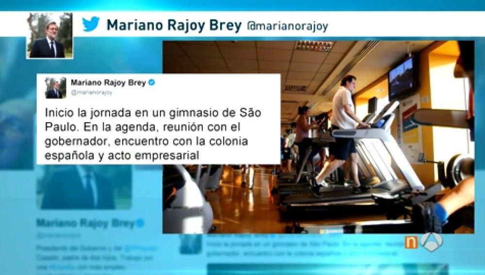 Frame 27.107777 de: Rajoy llega a Uruguay sin pronunciarse sobre las últimas noticias sobre el caso Lezo