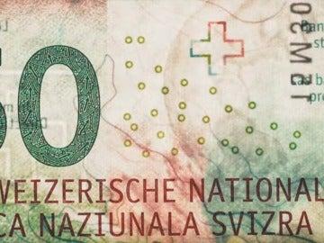 El billete de 50 francos suizos elegido como el mejor del mundo de 2016