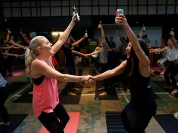 Clase de Brew Yoga