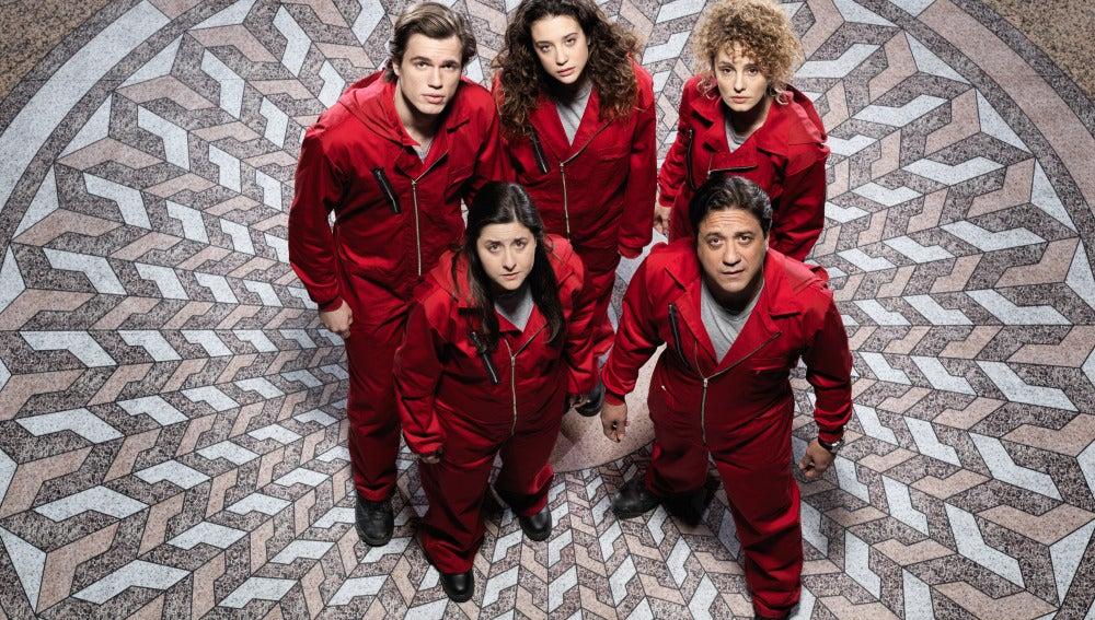 Pablo, Alison, Esther, Mercedes y Arturo: los rehenes de 'La casa de papel'