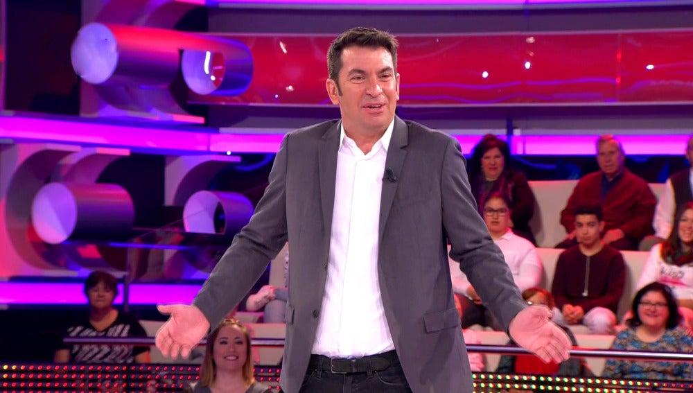 Un reto muy curioso para Arturo Valls