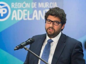 Fernando López Miras, diputado regional y vicesecretario de la organización del PP en Murcia