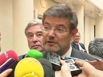 Frame 27.530666 de: Catalá niega que en su SMS a González se refiriera a cuestiones judiciales