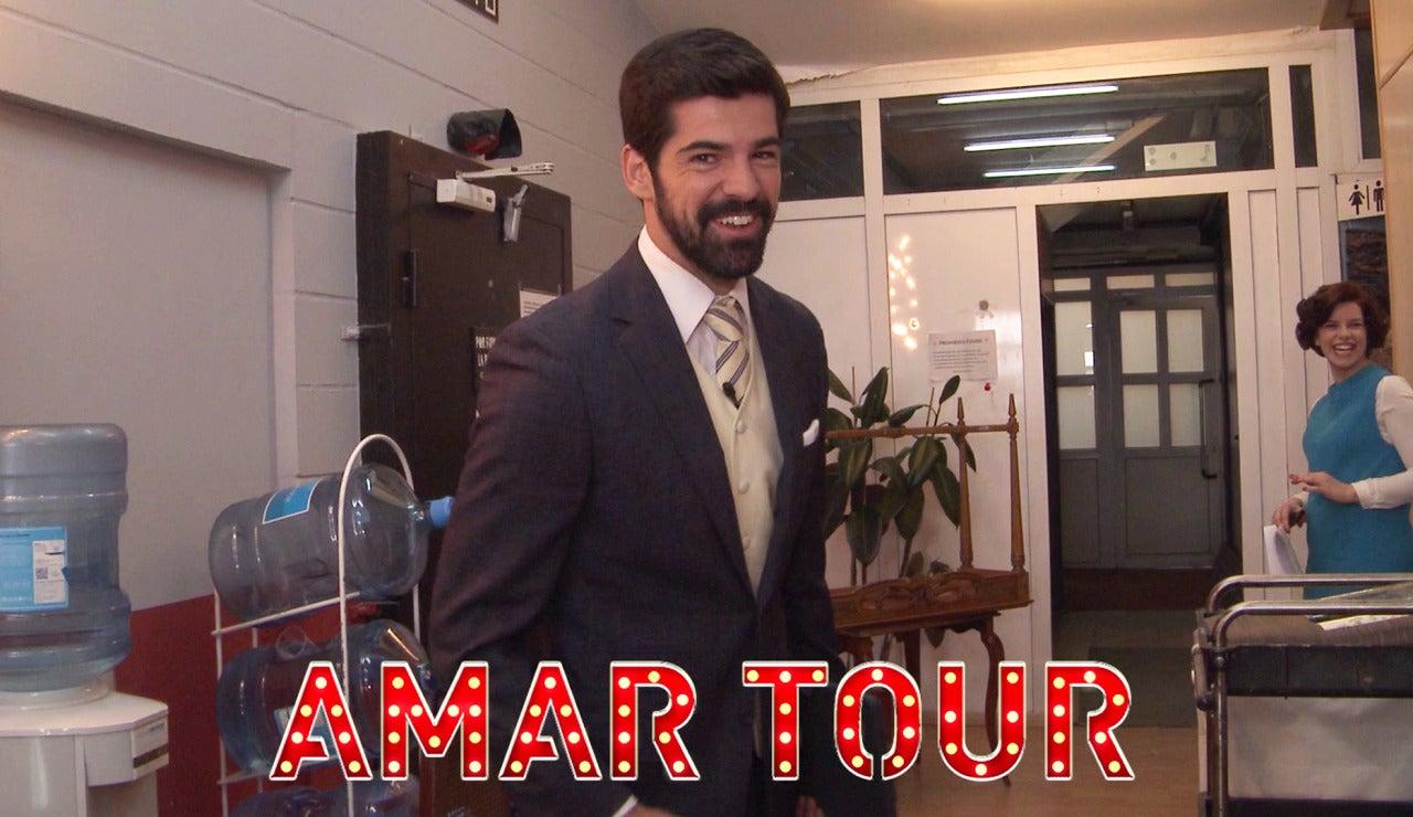 Miguel Ángel Muñoz nos hace de guía en un 'Amar Tour' muy especial