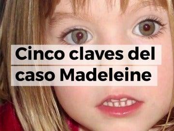 Cinco claves del caso Madeleine McCann