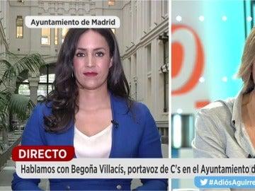 Villacís, tras la dimisión de Aguirre