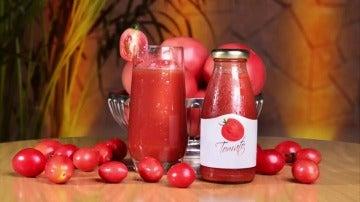 Frame 0.0 de: ¿Vale cualquier zumo de tomate para quemar grasa? Así es como consigue reducir cartucheras según la ciencia