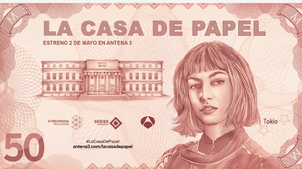 58 La Casa De Papel Money