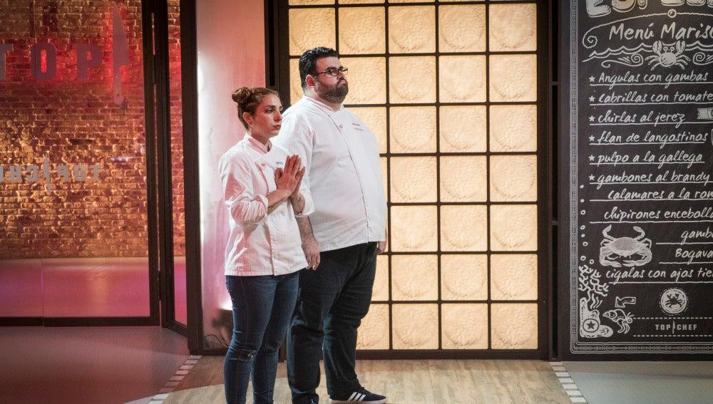 Richard y Melissa, en la cuerda floja por abandonar 'Top Chef'