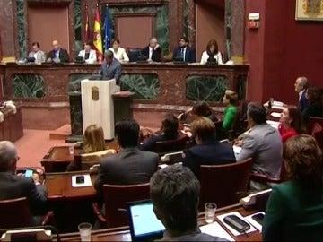 Frame 21.77065 de: Murcia elimina el aforamiento de los miembros del Gobierno regional y los diputados autonómicos