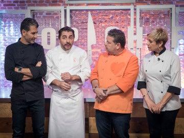 Jordi Roca deja mudos a los concursantes con su postre estrella