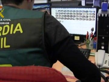 Frame 25.26175 de: La Guardia Civil detiene a uno de los delincuentes sexuales británicos más buscados