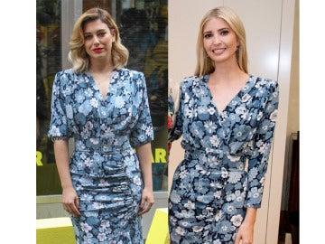 Ivanka Trump y Blanca Suárez coinciden con el mismo vestido