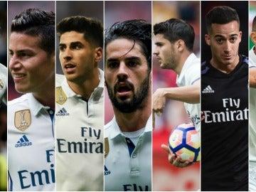 Las alternativas de Zidane para el ataque blanco