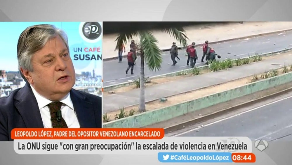 Leopoldo López en Espejo Público
