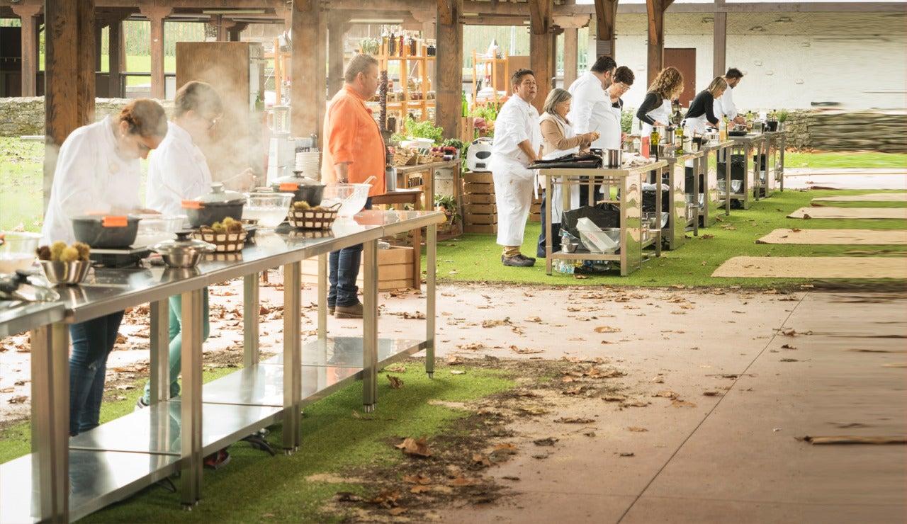 Los cocineros de 'Top Chef' en Asturias