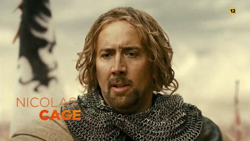 Frame 1.772198 de: Nicolas Cage protagoniza 'En tiempo de brujas' en Antena 3