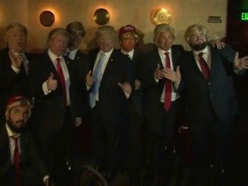 Frame 4.376743 de: Concurso de dobles de Donald Trump