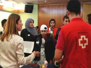 Llegan a España 56 refugiados sirios procedentes de Turquía